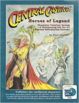 Central casting - Heroes of Legend by Jenelle Jaquays